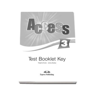 Curs limba engleza Access 3 Test Booklet Key Pre-Intermediate (B1)