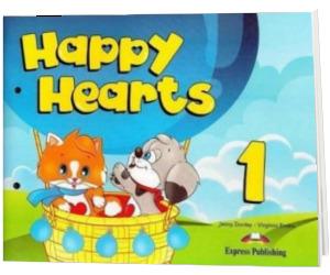 Curs pentru limba engleza Happy Hearts 1 Pupils Book