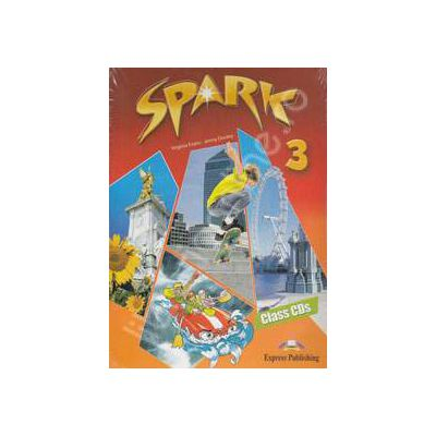Curs pentru limba engleza (Level B1). SPARK 3. Class CDs (4 CD-uri)