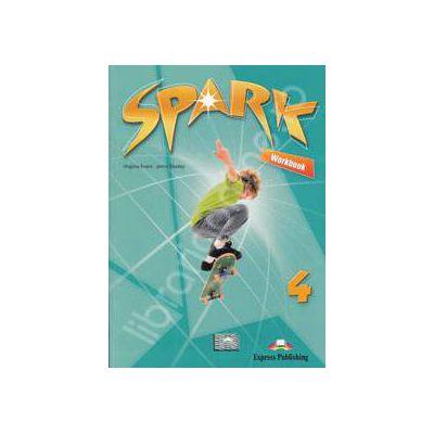 Curs pentru limba engleza (Level B1+). SPARK 4. Caiet pentru clasa a VIII-a (Workbook)