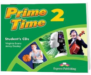 Curs pentru limba engleza. Prime Time 2, students CDs (2 CD)
