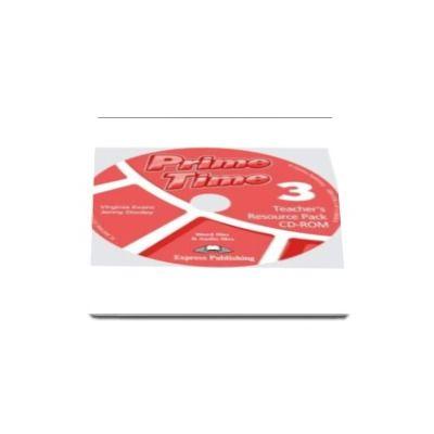 Curs pentru limba engleza. Prime Time 3, Teachers Resource Pack CD-ROM, pentru clasa a VII-a