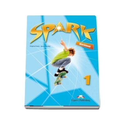 Curs pentru limba engleza Spark 1, Workbook with Digibook App. Caiet pentru clasa a V-a (Editie 2018)