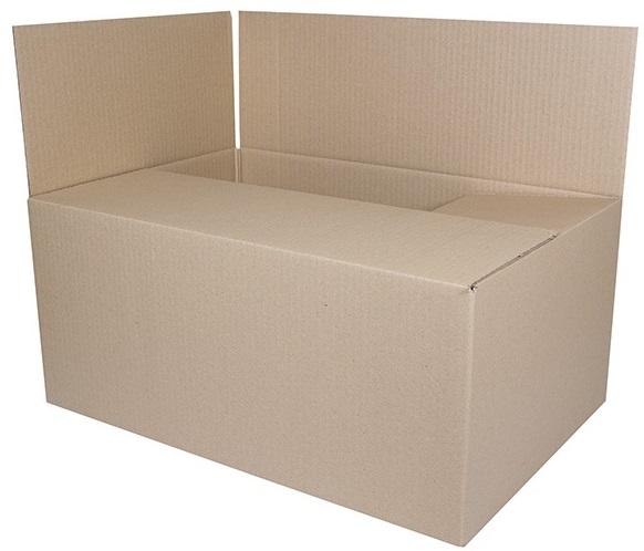 Cutie carton ondulat, 400gr/mp, 540x360x236mm, Donau - kraft