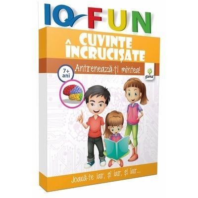 Cuvinte incrucisate - IQ FUN