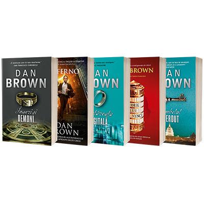Serie de autor Dan Brown, compusa din 5 carti