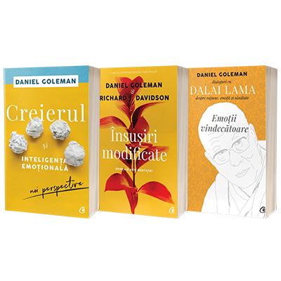Serie de autor Daniel Goleman. Emotii vindecatoare, Creierul si inteligenta emotionala si Insusiri modificate