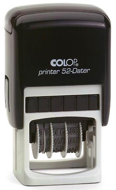 Datiera dreptunghiulara P52 (20 X 30 mm ) -  COLOP