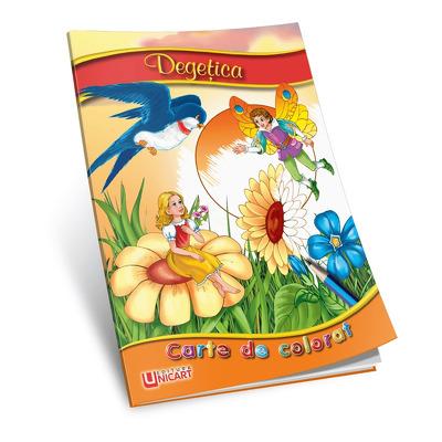 Degetica. Carte de colorat