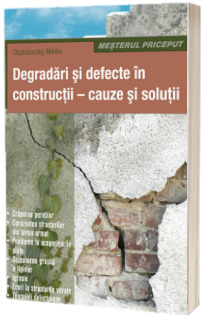 Degradari si defecte in constructii - cauze si solutii