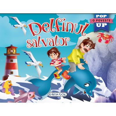 Delfinul salvator - O carte pop-up