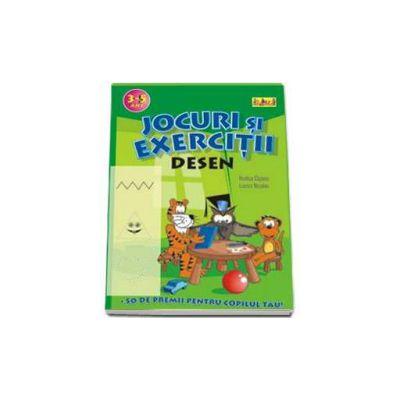 Desen (3-5 ani). Jocuri si exercitii