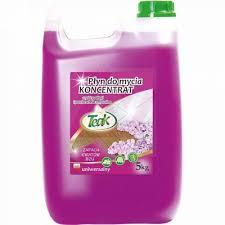 Detergent lichid universal, 5 litri, pentru toate tipurile de pardoseli, Teak - lilac - mov
