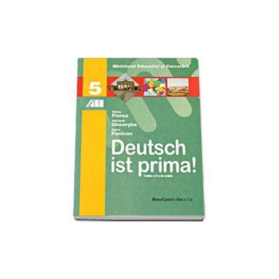 Deutsch Ist Prima! Manual de limba germana pentru clasa a V-a (Limba a doua de studiu)