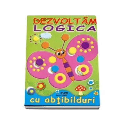 Dezvoltam logica cu abtibilduri. Fluture