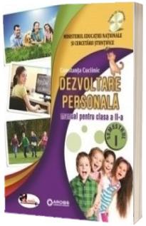 Dezvoltare personala, manual pentru clasa a II-a, Semestrul I si Semestrul II (Contanta Cuciinic) - Fara CD-uri, nota editurii.