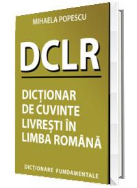 Dictionar de cuvinte livresti in limba romana