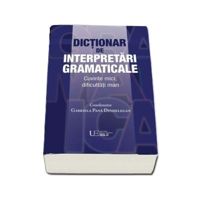Dictionar de interpretari gramaticale