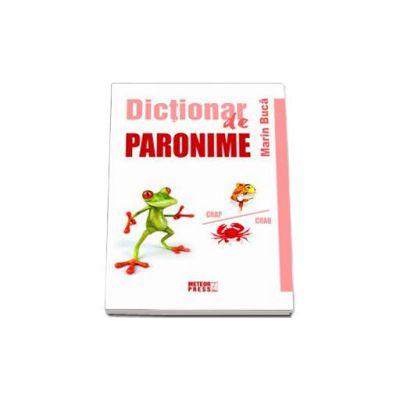 Dictionar de paronime (Marin Buca)