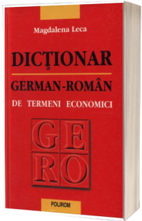 Dictionar german-roman de termeni economici - Editia a II-a