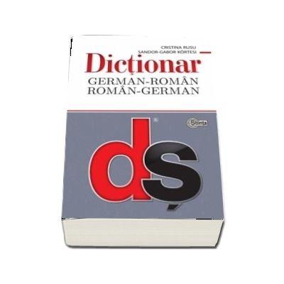 Dictionar German-Roman, Roman-German cu minighid de conversatie - Rusu Cristina (Editie Brosata)