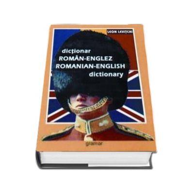 Dictionar Roman-Englez - Leon Levitchi (Editia a VIII-a, Cartonata)