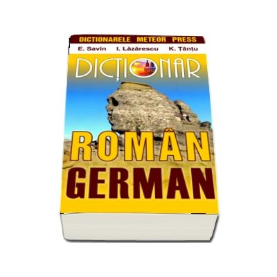 Dictionar roman-german