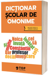 Dictionar scolar de omonime (include acces la varianta digitala)