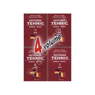Dictionar TEHNIC GERMAN ROMAN (4 volume)