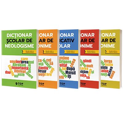 Dictionare scolare - colectie completa (include acces la editiile digitale)