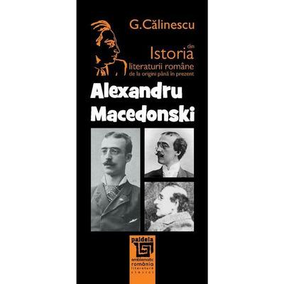 Din istoria literaturii romane - Alexandru Macedonski