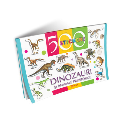 Dinozauri si animale preistorice - 500 Stickere
