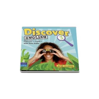 Discover English Global Level 3 Class Audio CD 1-3 with Tests audio