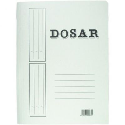 Dosar carton alb simplu 230g  (Adaconi)