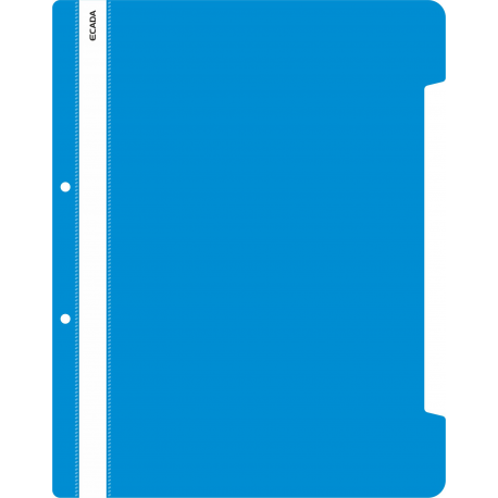 Dosar plastic cu sina Ecada albastru inchis