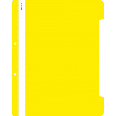 Dosar plastic cu sina galben, Ecada