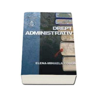 Drept administrativ (Elena Mihaela Fodor)