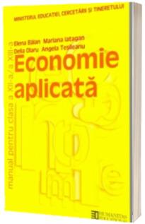 Economie aplicata. Manual clasele  a XII-XIII-a
