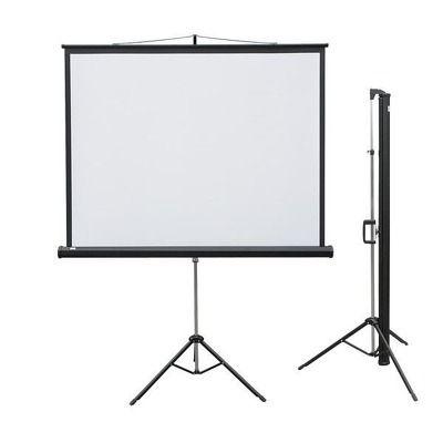 Ecran de proiectie cu trepied 165x122cm