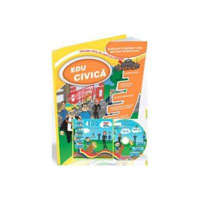 EDU Civica pentru clasele a III-a si a IV-a. (Contine CD cu soft educational)