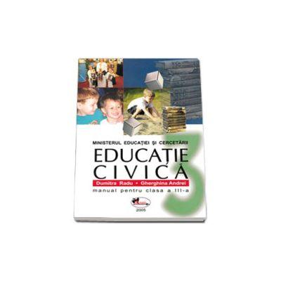 Educatie civica manual pentru clasa a III-a (Dumitra Radu)