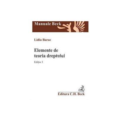 Elemente de teoria dreptului ( Editia 3)