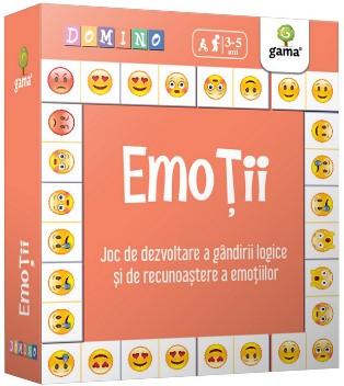Emotii - Joc de dezvoltare a gandirii logice si de recunoastere a emotiilor (Colectia Domino 4-6 ani)