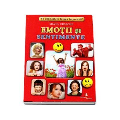 Emotii si sentimente - Sa cunoastem lumea impreuna! (Contine 16 cartonase cu imagini color)