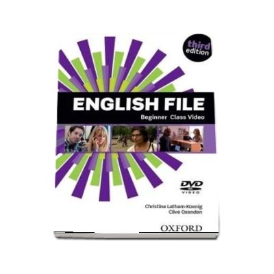English File: Beginner: Class DVD : The best way to get your students talking