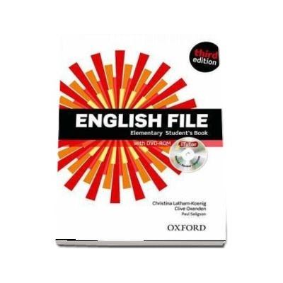 English File  Elementary. Student's Book with iTutor, third edition
