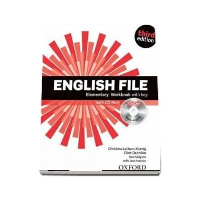 English File  Elementary. Workbook with iChecker with key, third edition