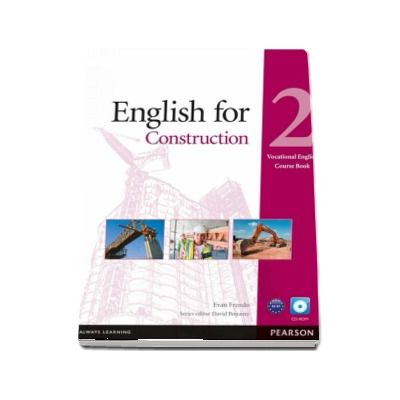 English for Construction 2 - Vocational English Coursebook with CD-ROM