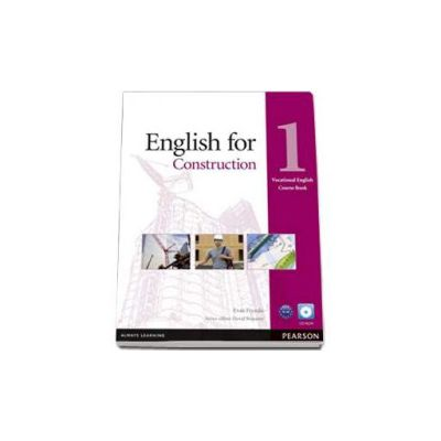 English for Construction level 1. Vocational English Coursebook with CD-Rom