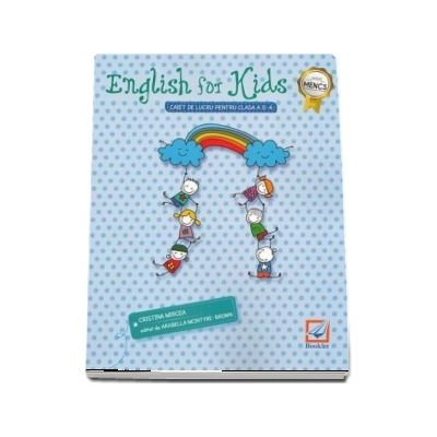 English for kids Caiet de lucru clasa pentru clasa a II-a - Editia 2018